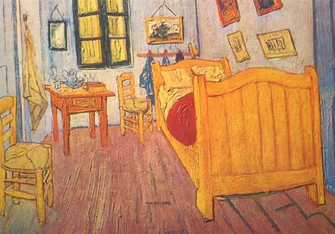 Vincent's bedroom at Arles